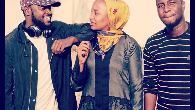 Kalli kayatattun hotunan haduwar DJ Abba, Rahama Sadau, da Adam A. Zango