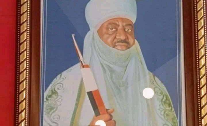 Hoton Sabon Sarkin Kano,Aminu Ado da za'a mayeshi daga na Tsohon  sarki, M. Sanusi II