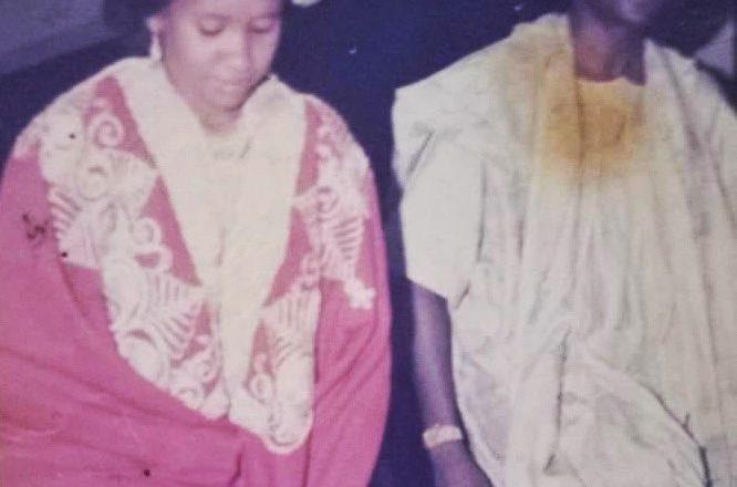 Tuna Baya: Kalli hoton marigayi Abba Kyari lokacin aurensa