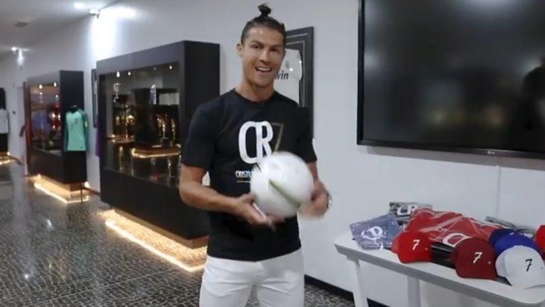 Hotuna da Bidiyo: Cristiano Ronaldo ya Bude gidan adana kayan Tarihinsa