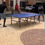 Bidiyo:Ahmed Musa na buga Table Tennis da abokansa