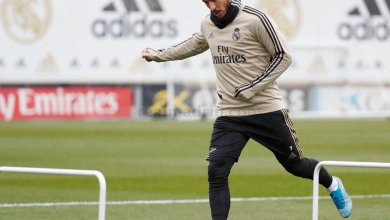 Real Madrid sun cigaba da atisayi a karo na farko tun bayan dakatar da wasannin kwallon kafa