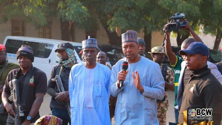 Yanzu-Yanzu: Gwamna Zulum zai gina Ofishi a Garin Auno inda zai rika gudanar da ayyukansa dan maganin yawa kaiwa garin harin da Boko Haram suke