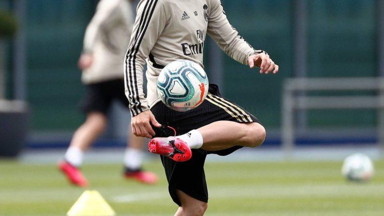 Hotuna da Bidiyo: Yanda Kungiyar Real Madrid ta yi Atisaye a yau