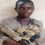 Hoto: Kwamandan Boko Haram da ya mika wuya da kansa hannu soji
