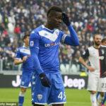 Mario Balotelli: kungiyar Brescia sun kori tsohon dan wasan Liverpool din daga aiki