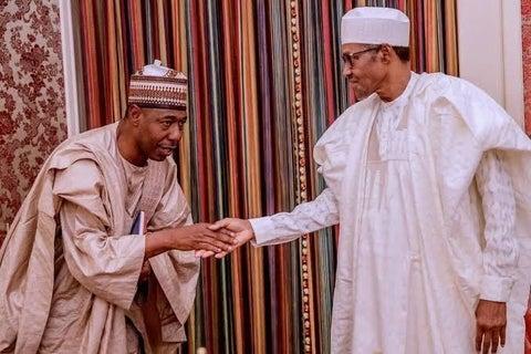 Shugaba Buhari ya gana da gwamna Zulum