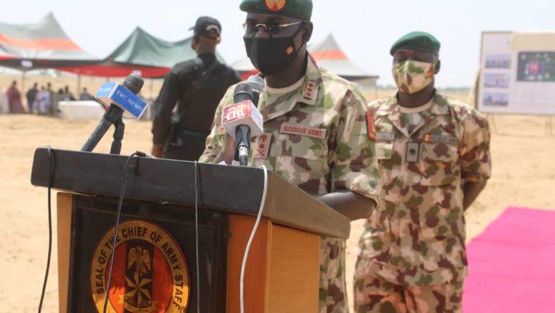 Kimanin yan ta'addan Boko Haram 1400 ne muka kashe a Arewa Maso Gabas>>Buratai