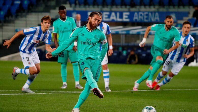 Sergio Ramos ya kafa sabon tarihi a gasar La Liga yayin da ya samu rauni bayan sun tashi wasan jiya