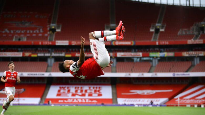 Arsenal 4-0 Norwich City: Aubameyang ya haskaka yayin da Arsenal suka ba Norwich kashi a daren jiya