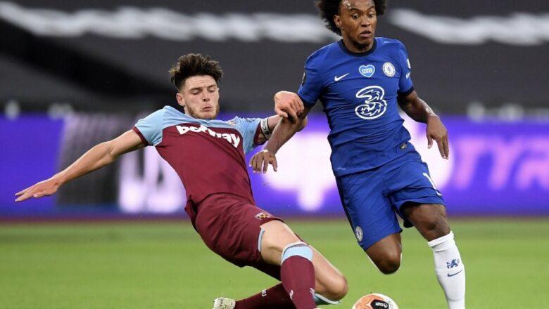 West Ham 3-2 Chelsea: Andriy Yarmolenko shine ya taimakawa West-Ham da wata kwallo daya ci ana gab da tashi wasan
