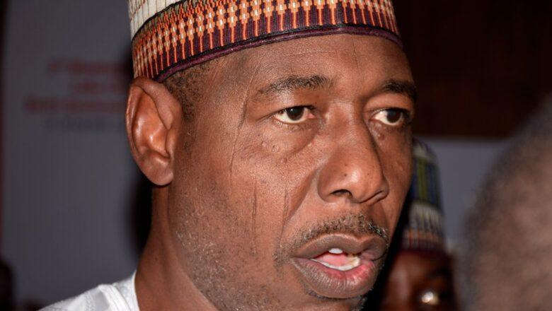Matsalar Boko Haram ba laifin Buhari ko Buratai bane>>Gwamna Zulum