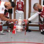 Hotuna: Kalli yanda Arsenal ta yi murnar lashe kofin FA karo na 14