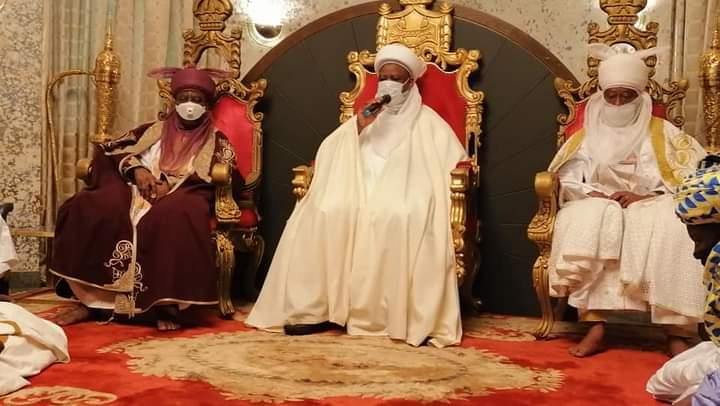 Sarkin Kano dana Bichi sun jewa Sarkin Musulmi ziyarar Mubaya'a a Sokoto