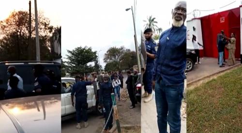 Bidiyo:Yanda 'Yansandan kasar Congo da wasu 'yan ta'adda suka kwace wani ginin ofishin jakadancin Najeriya a kasar