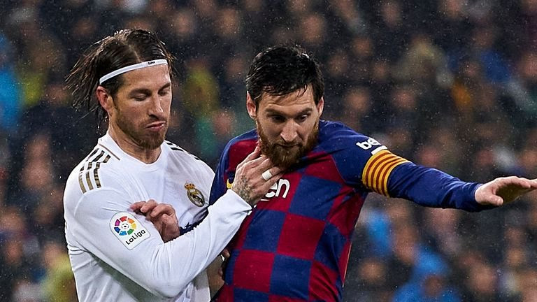 Messi na da damar Barin Barcelona in yana son hakan>>Ramos