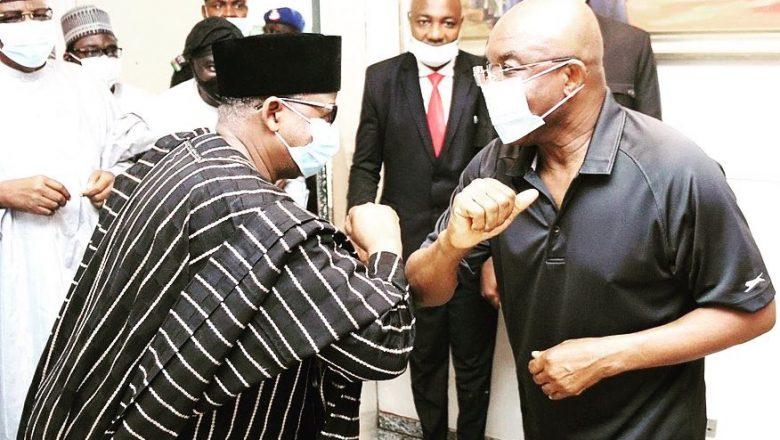 Gwamna Bala Muhammad ya jagoranci PDP zuwa kaiwa David Mark ziyara