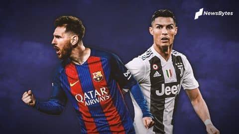 A Karon Farko: Cristiano Ronaldo da Messi basa cikin gwarazan yan wasan UEFA