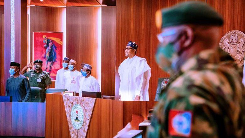 Da Duminsa:Shugaba Buhari na ganawa da tsaffin shuwagabannin kasa