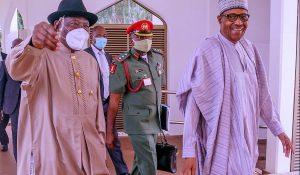 Goodluck Jonathan yayi bayanin abinda ya kaishi ganawa da shugaba Buhari