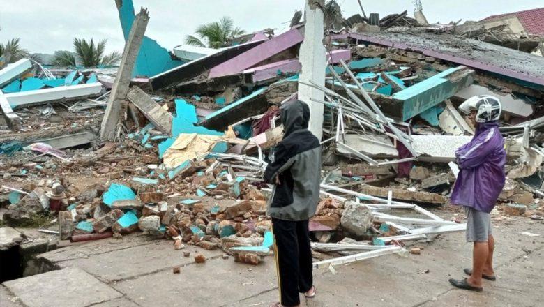 Girgizar Kasar Indonesiya Ta Akalla Kashe Mutane 34, Yayin da Wasu Da Dama Suna Makale Cikin Kasa