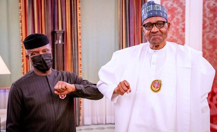 Yan Najeriya da yawa sun amfana da tallafin gwamnatin mu>>Osinbajo ya gayawa Shugaba Buhari