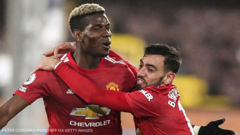 Fulham 1-2 Manchester United: Pogba ya taimakawa Manchester United ta dare saman teburin gasar Premier League