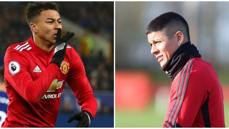 Manchester United na shirin siyar da Marcus Rojo da Jesse Lingard